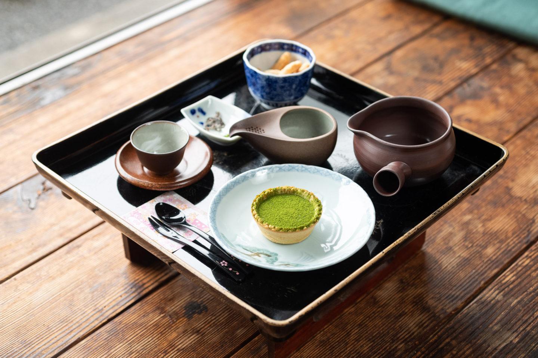 ▲「お茶膳」