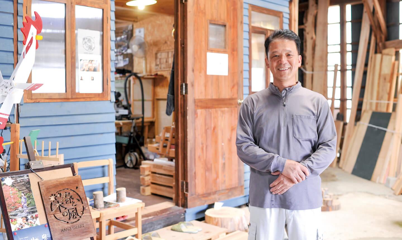穂積製材所プロジェクト & 手作り木工房 春と木の風の写真